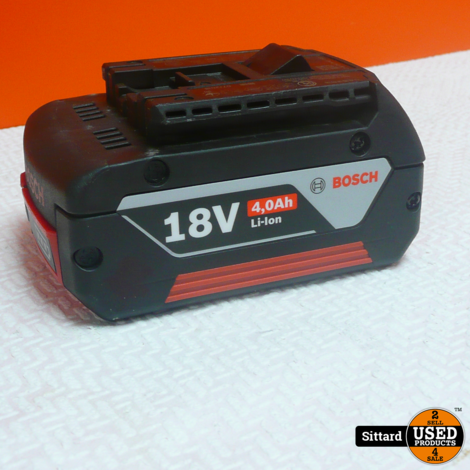 Bosch accu 18 volt 4,0 Ah , Nwpr. 69.99 Euro