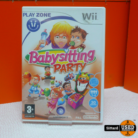 Nintendo Wii Game - Babysitting Party