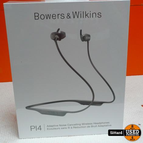 Bowers & Wilkins PI4 - Silver   Nieuw!! Nwpr. Elders 299,- Euro