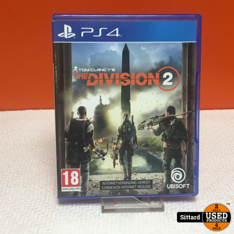 Sony Playstation 4 Game - The Division 2 | Elders 14.98 Euro