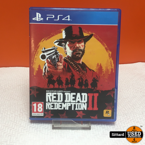Sony Playstation 4 Game - Red Dead Redemption II | Elders 29.98 Euro