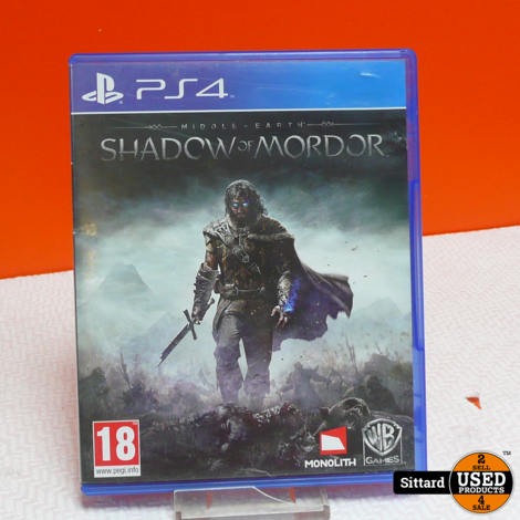 Sony Playstation 4 Game - Midle Earth Shadow of Mordor   Elders 9.98 Euro