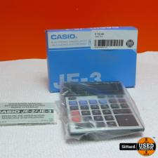 Casio Je-3 Rekenmachine in nieuwstaat