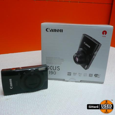 Canon Ixus 190 Compact Camera , nwpr. 159 Euro