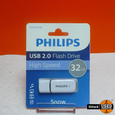 PHILIPS 2.0 Flash Drive 32GB , nwpr. 14 Euro