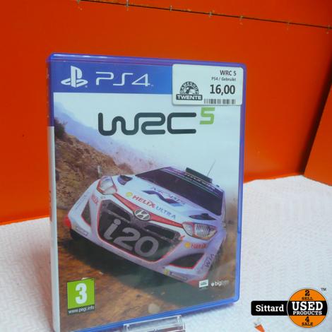 PS4 Game - WRC5 , nwpr. 14.99 Euro
