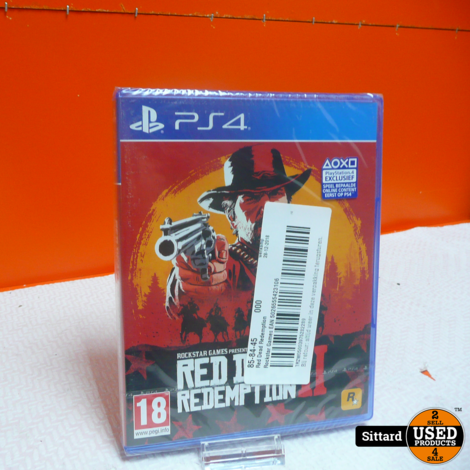 PS4 Game - Red dead redemption 2 NIEUW , nwpr. 39.99 Euro