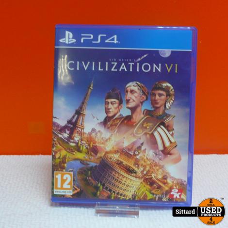 Playstation 4 Game - Civilization VI | Elders 24.98 Euro