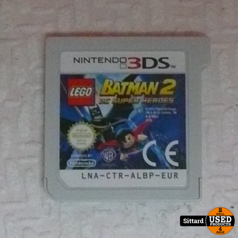 LEGO Batman 2 DC Superheroes (losse cassette) | N3DS