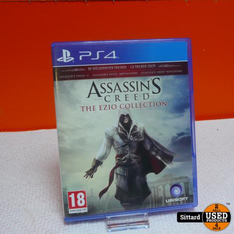PS4 Game - Assasin's Creed The ezio collection , nwpr. 19.99 Euro