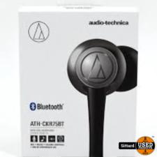 audio-technica ATH-CKR75BT draad loze headset | NIEUW | elders 89 euro
