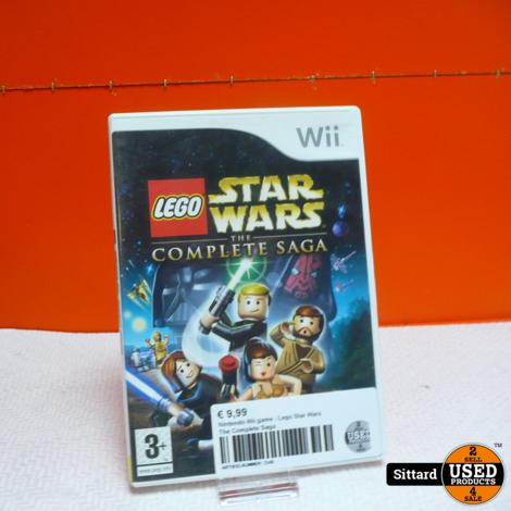 Nintendo Wii game - Lego Star Wars The Complete Saga