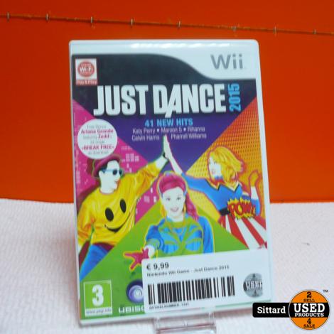 Nintendo Wii Game - Just Dance 2015