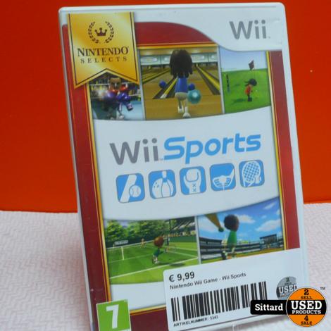 Nintendo Wii Game - Wii Sports