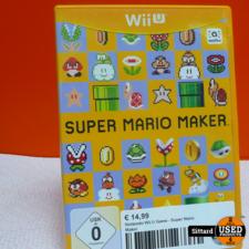 Nintendo Wii U Game - Super Mario Maker