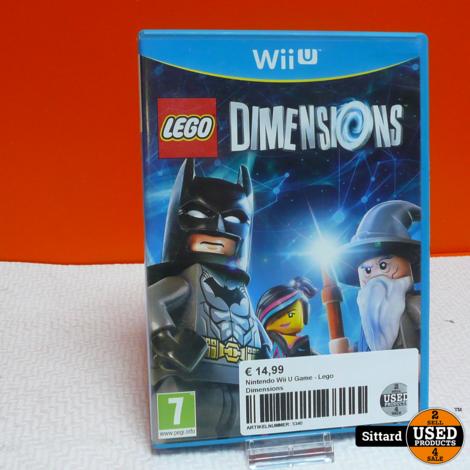 Nintendo Wii U Game - Lego Dimensions