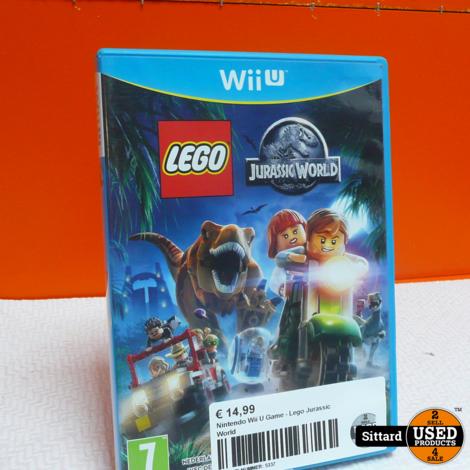 Nintendo Wii U Game - Lego Jurassic World