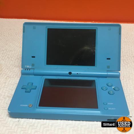 Nintendo DSi, lichtblauw, redelijke staat
