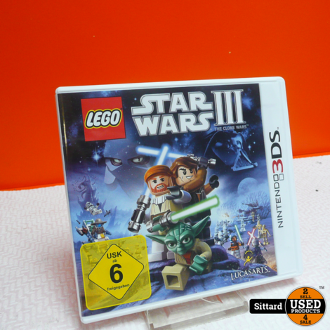 N3DS Game : LEGO Star Wars 3