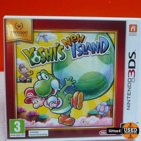 N3DS Game : Yoshi's New island , Elders voor 14.99 Euro