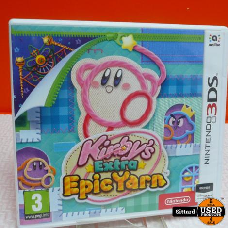 N3DS Game : Kirby's Extra epic yarn , Elders voor 34.99 Euro