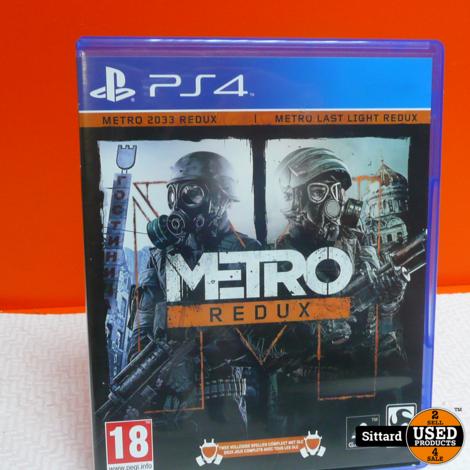 PS4 Game : Metro Redux , Elders voor 14.99 Euro