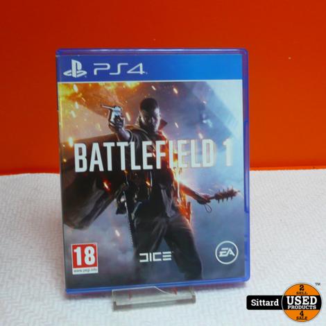 Playstation 4 Game - Battlefield 1   Elders 14.98 Euro