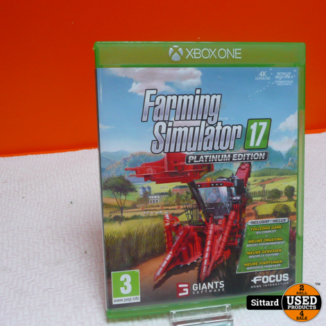 Farming Simulator 17, platinum edition |Xbox One Game