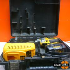 Dewalt DC927 accuboormachine in koffer incl. lader + accu 18 volt 2,0 Ah