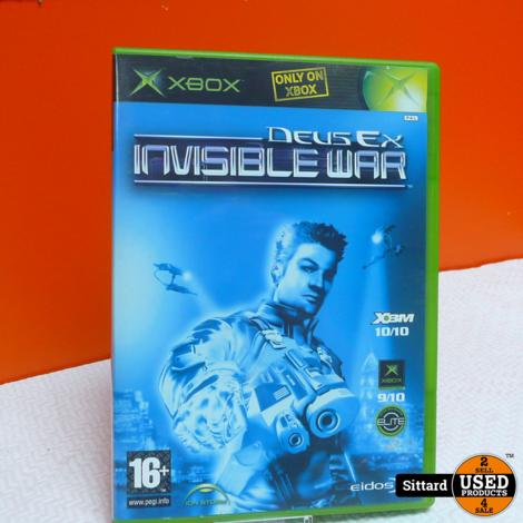 XBOX Game - DEUS EX invisible war , Elders voor 9.99 Euro