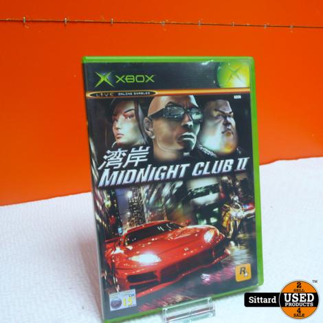 XBOX Game - Midnight Club 2 , Elders voor 9.99 Euro