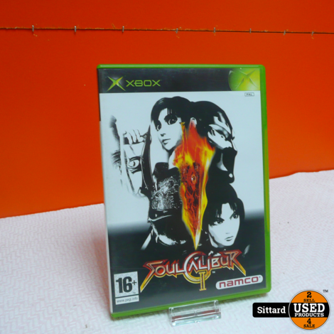 XBOX Game - Soul Calibur 2 , Elders voor 9.99 Euro