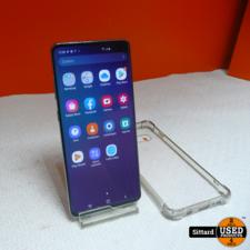 Samsung Galaxy S10+  128 GB   blauw   in NIEUWstaat