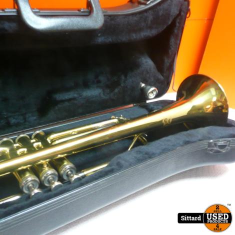 J michael koperen trompet , met koffer
