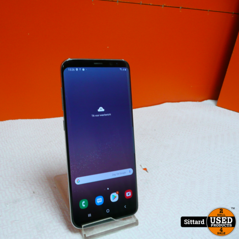 Samsung Galaxy S8 plus 64 GB, silver | in nieuwstaat