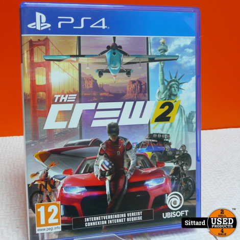 PS4 Game - The crew 2 , nwpr. 16.99 Euro