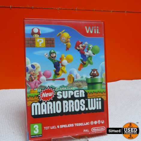 Wii Game - New super Mario Bross , Elders voor 24.99 Euro