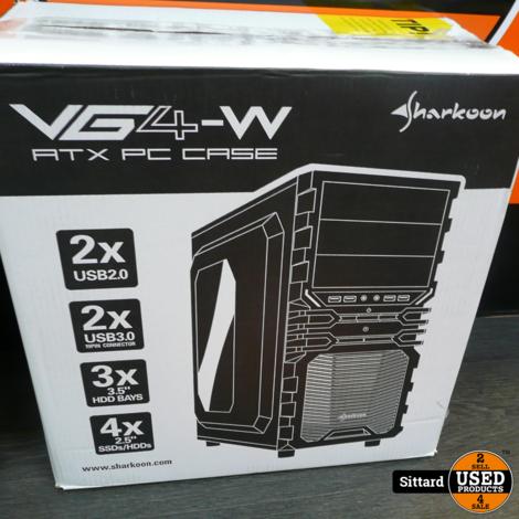 Sharkoon budget gaming Desktop met doos