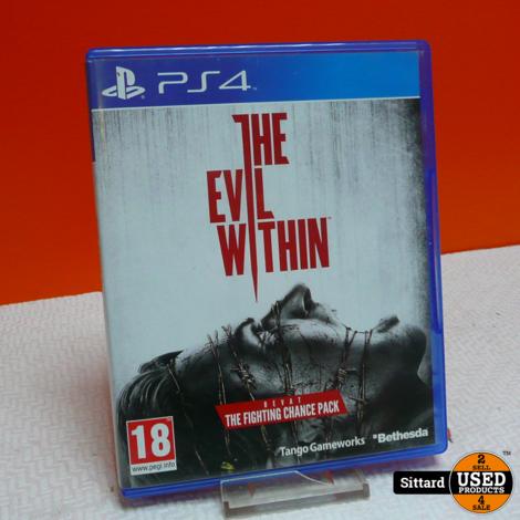 PS4 Game - The Evil Within , Elders voor 14.99 Euro