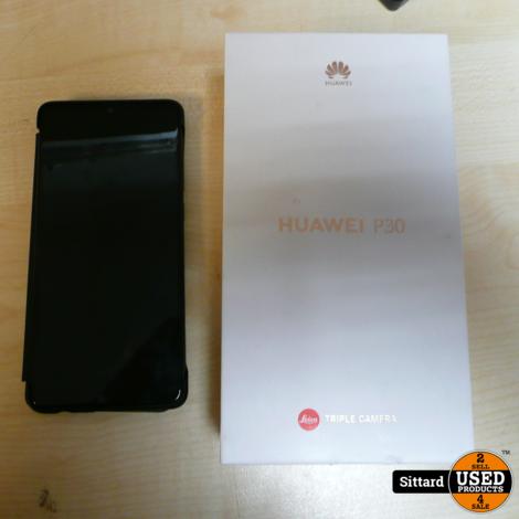 Huawei P30 128GB - zwart | Nwpr. 535,- Euro