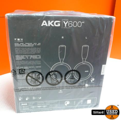 AKG Y600 Headset/hoofdtelefoon - Nieuw! | Nwpr. 149,-