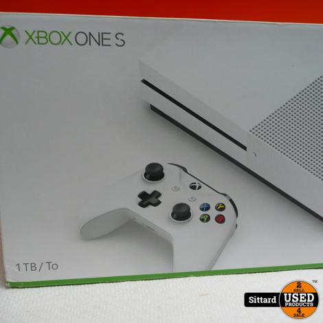 Xbox One S console 1TB , compleet met doos