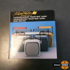 SuperTech draagbare radio, nieuw in de doos