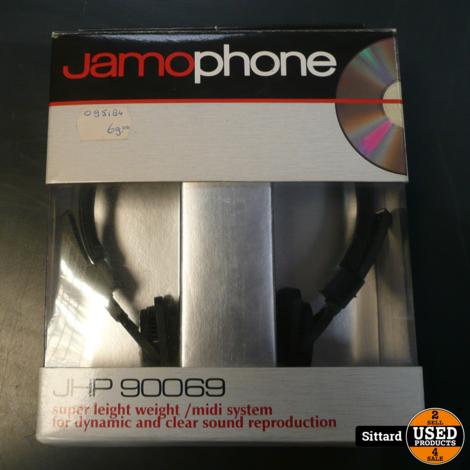 Jamophone 90069 koptelefoon, nieuw in doos