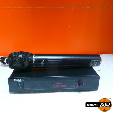IBIZA SOUND VHF1A Microfoon + ontvanger , nwpr. 34.95 Euro