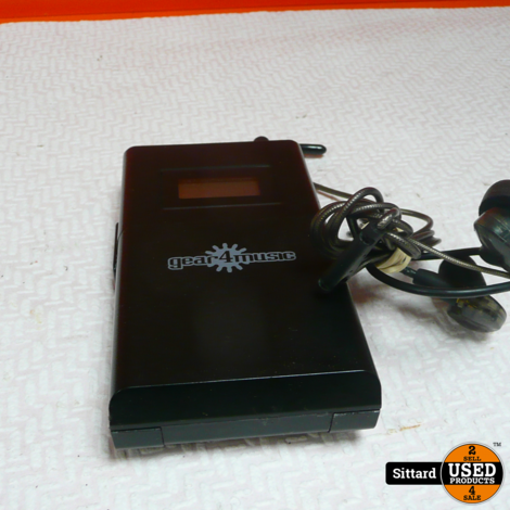 Gear4Music WPM-200 Draadloos in-ear systeem , nwpr. 69.99 Euro