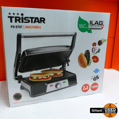 Tristar Multigrill PD-8707| Nieuw in doos