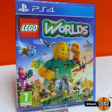 PS4 Game - LEGO Worlds , Elders voor 14.99 Euro