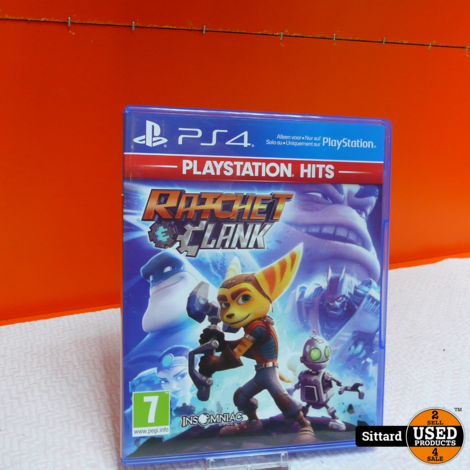 PS4 Game - Ratchet en Clank , Elders voor 14.99 Euro