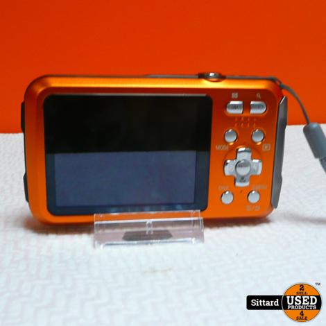 Panasonic LUMIX DMC-FT30 - Oranje | nieuwstaat | nwpr 150 euro